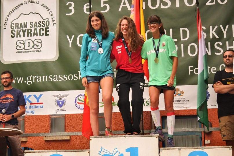 Németh Luca (jobbról) tavaly három bronzot hozott haza a vb-ről.
