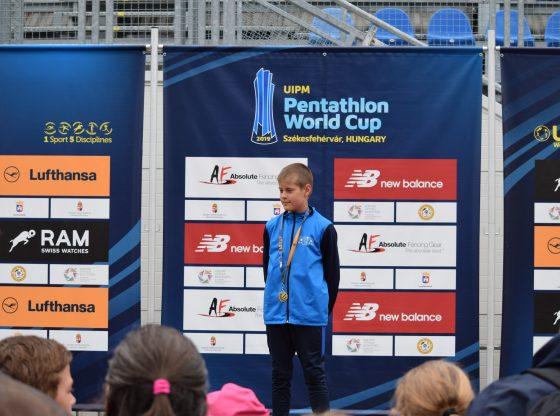 Kántor Benedek a laser run Európa-bajnokságon