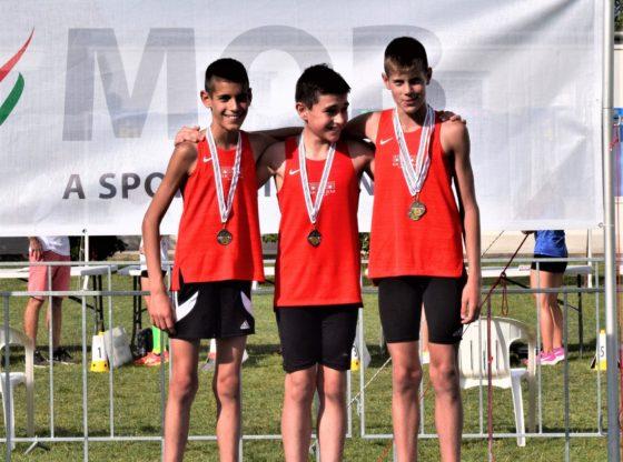 Négy Sportiskolás bajnoki arany Székesfehérvárról